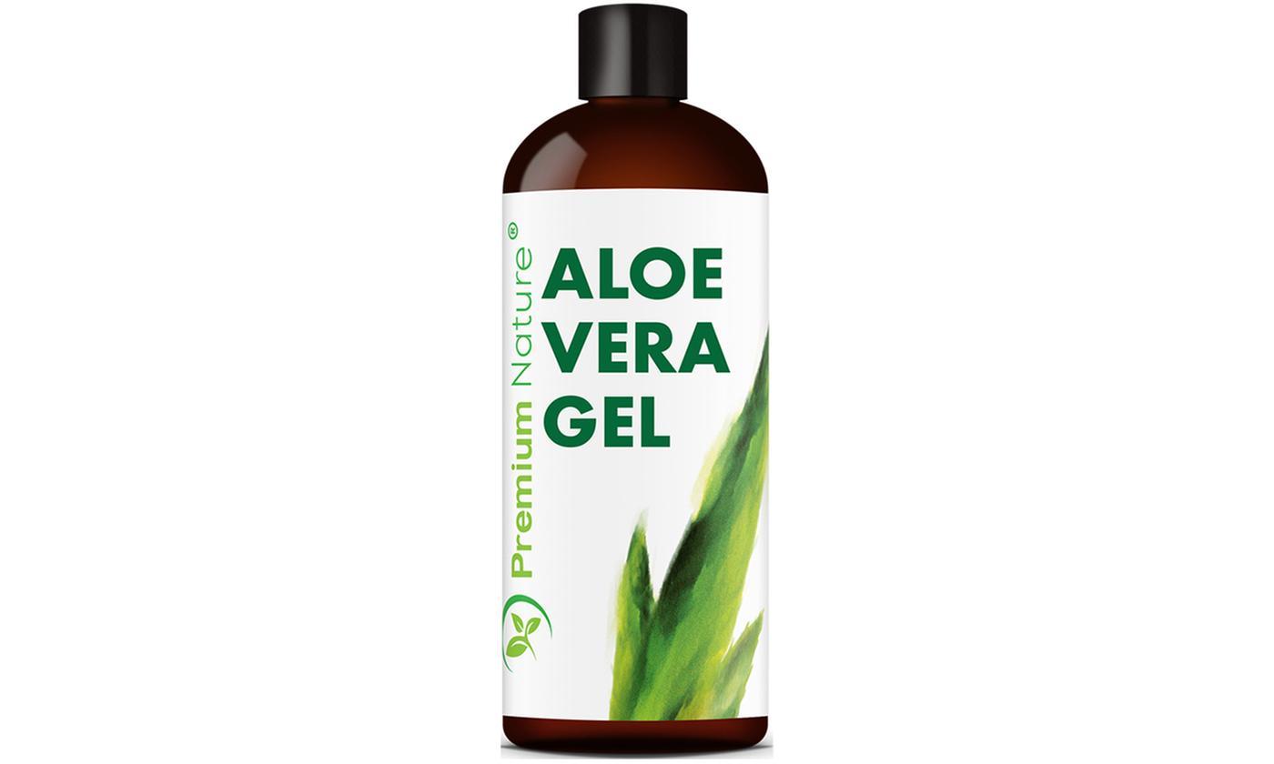 Premium Nature Pure Aloe Vera Gel (12 Oz.; 1- or 2-Pack)