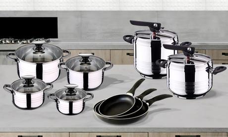 Set de cocina de 12 piezas San Ignacio