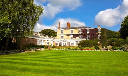 Cheshire: 12 Nights with Breakfast, Dinner, Wine and Optional Spa Treatment at 4* Rowton Hall Country House Hotel & Spa