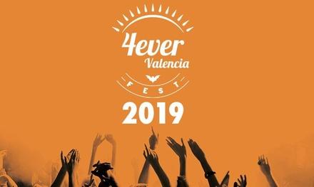 """Entradas de Ticketmaster para """"4ever Valencia Fest"""" el 21 de julio a las 17:00 h en el Auditorio Marina Sur de Valencia"""