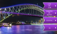 Vivid Cruise with Cocktail: 2-Hour + Canapes ($29) or 3-Hour + Buffet ($45) with Sydney Pearl Cruises