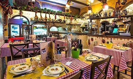 Menu di carne e bottiglia di vino a 29,90€euro