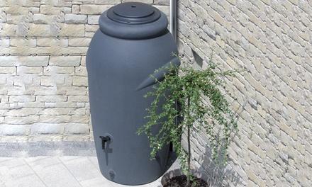 Regenwassertonne 210 Liter inkl. Pflanzeinsatz in der Farbe nach Wahl