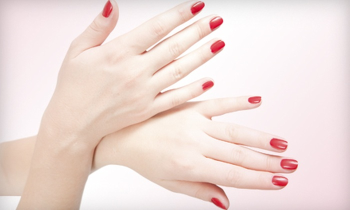 Lenee Lowery at Rumours Salon & Spa - Santa Cruz: One or Three Spa Manicures or a Full Set of Nails from Lenee Lowery at Rumours Salon & Spa (Up to 67% Off)