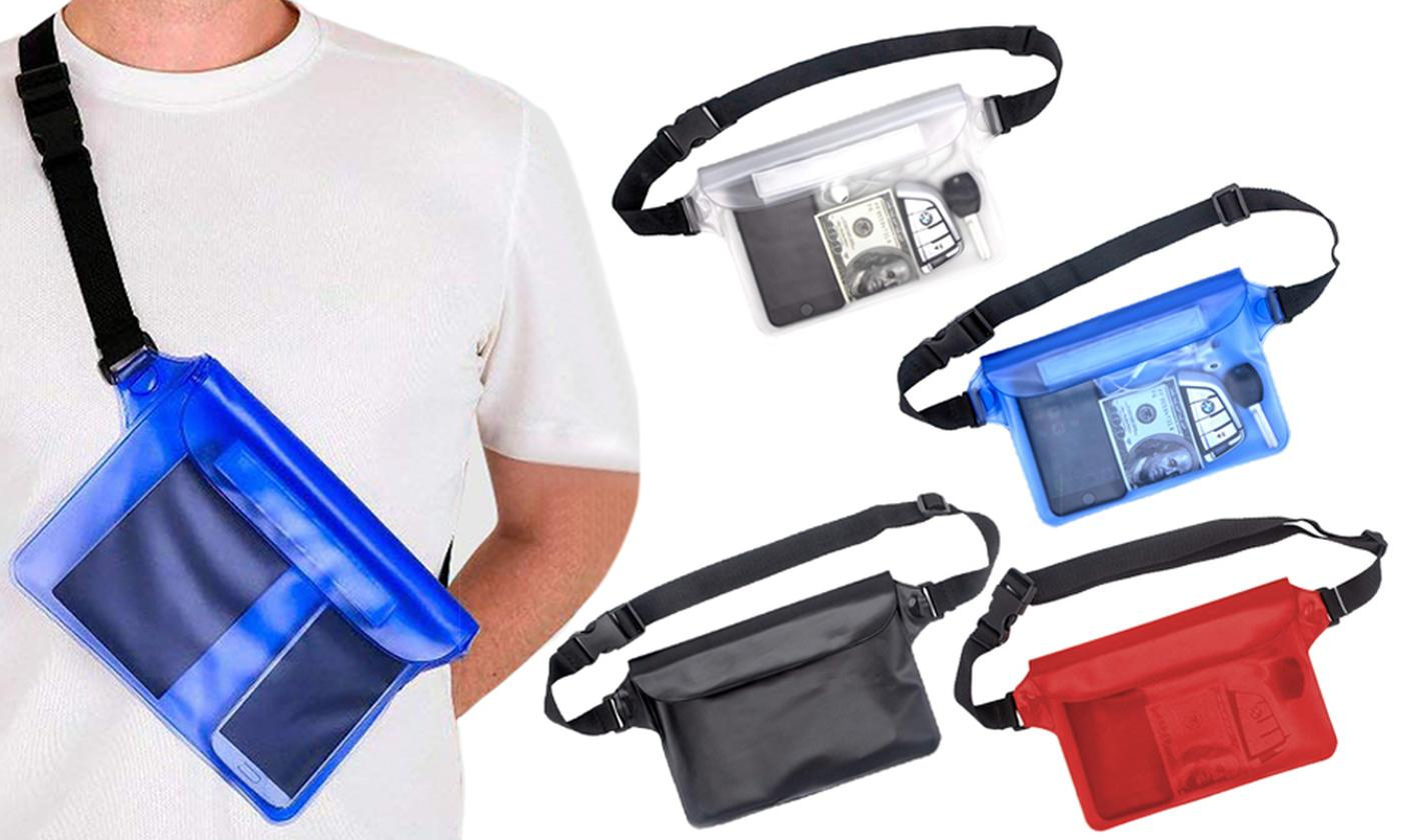 One or Two Waterproof Pouch Bag Cases
