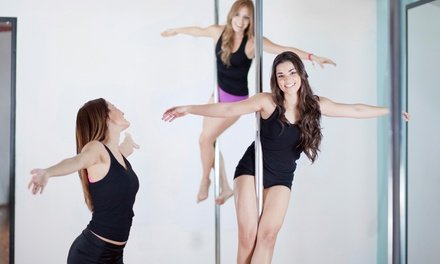Two or Four Intro Pole-Fitness Classes or a Private Pole-Fitness Party at Fit-Natics by Angie (Up to 67% Off)
