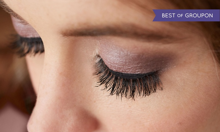 The Lashe Spot - Multiple Locations: Eyelash Perm or Tint or Both at The Lashe Spot (Up to 44% Off)