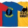 Kidteez Kid's Superhero T-Shirts