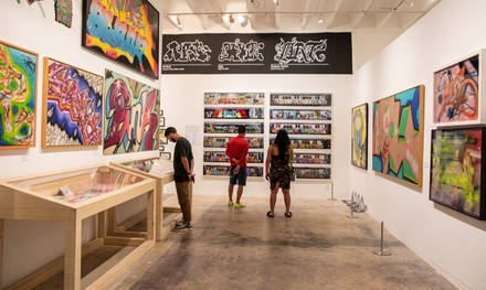 $13.60 for Admission for One to Museum of Graffiti ($16 Value)