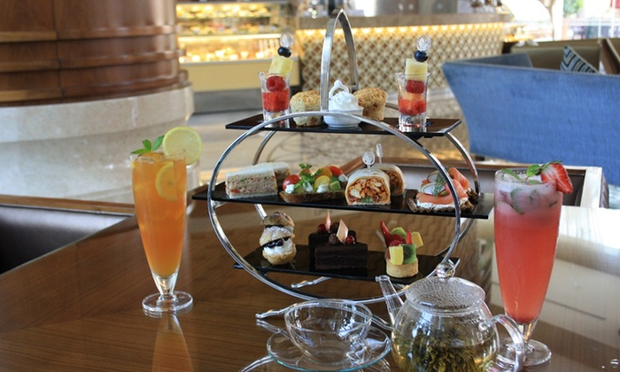 The Lounge at Khalidiya Palace Rayhaan by Rotana - The Lobby Lounge: Classic or Rayhaan Afternoon Tea for Up to Eight from The  Lounge at Khalidiya Palace Rayhaan by Rotana (Up to 60% Off)
