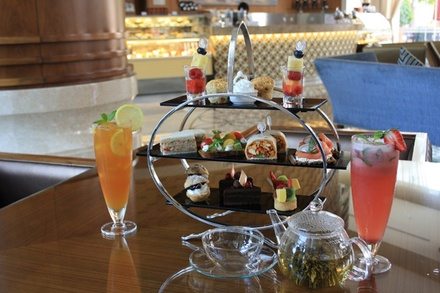 Classic or Rayhaan Afternoon Tea for Up to Eight from The  Lounge at Khalidiya Palace Rayhaan by Rotana (Up to 60% Off)