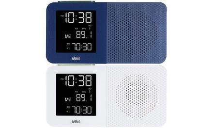 Radiosveglia Braun BNC010 disponibile in 2 colori