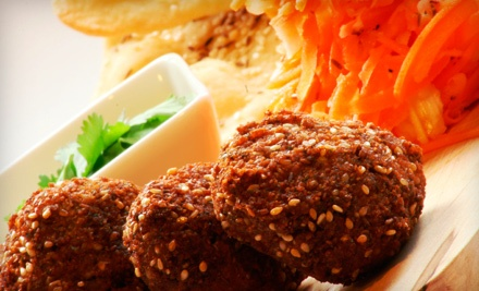 $15 for Three Groupons, Each Good for $10 Worth of Middle Eastern Food at U-Pick ($30 Total Value)