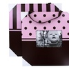 Striped and Polka-Dot Picture-Frame Set (2-Piece)
