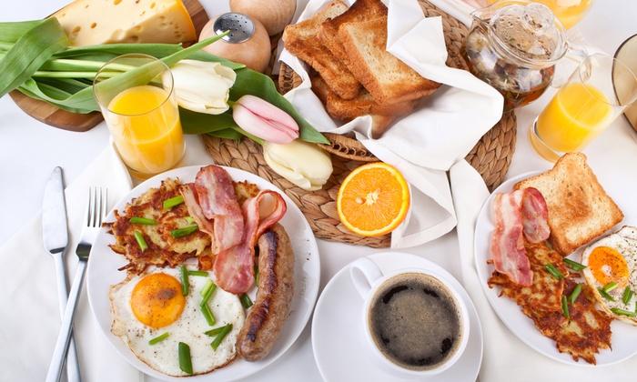 The Victorian House Café Klenze - München: Exklusives Schlemmer-Samstags-Brunch-Buffet für 2 oder 4 Personen im The Victorian House Café Klenze (30% sparen*)