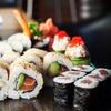 Zestaw sushi z przystawką