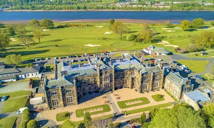 Glasgow: Stay for Two with Thermal Spa Experience and Full Scottish Breakfast at the 5* Mar Hall Golf & Spa Resort