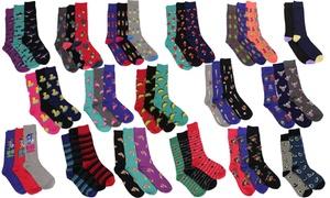 Mystery Deal - Marc Ecko Men's Cut & Sewn Novelty Socks (10 Pairs)