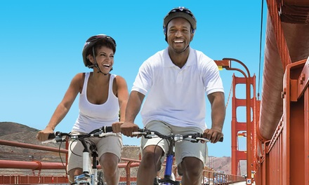 58% off Bike the Bridge: Bike Rentals & GPS-Guided Audio Tour at Wheel Fun Rentals
