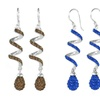 Drop Earrings with Swarovski Elements Crystals