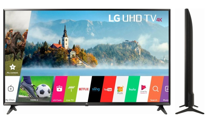 Up To 21% Off on LG 4K Ultra HD Smart LED TV | Groupon Goods