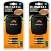 Duracell Rechargeable Battery Quick Charger (Two-Pack)