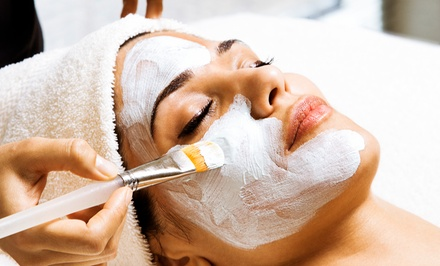 Aveda LED Light-Therapy Facial or Aveda Facial and 30-Minute Massage at Rometrics Salon & Spa (50% Off)