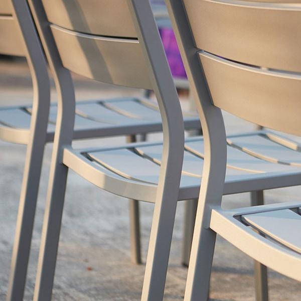 Extensible 8 Aluminium Jardin Places Table De En PkXOZiu