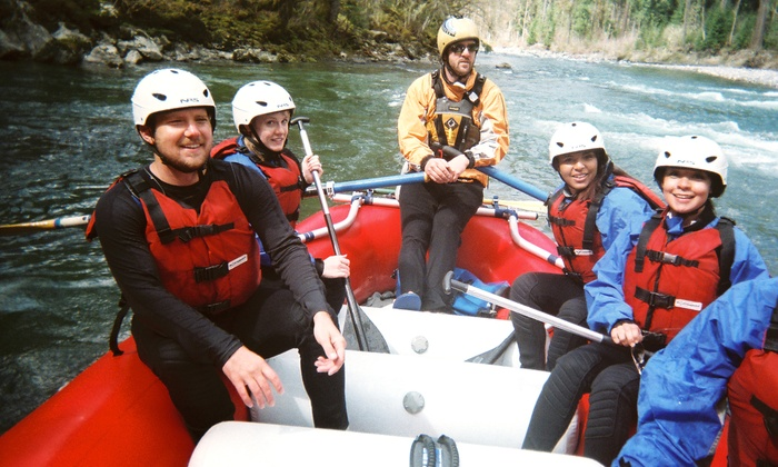 Triad River Tours - Howard Miller Steelhead Park: Sauk or Skagit White-Water Rafting Trip for One or Two from Triad River Tours (Up to 53% Off)