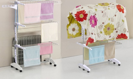 $69 for a Portable SixTier Laundry Drying Rack
