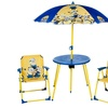 Minions Parasol Table and Chairs