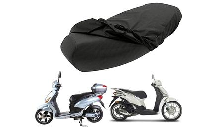 Telo coprisella impermeabile per moto o scooter disponibile in 4 taglie