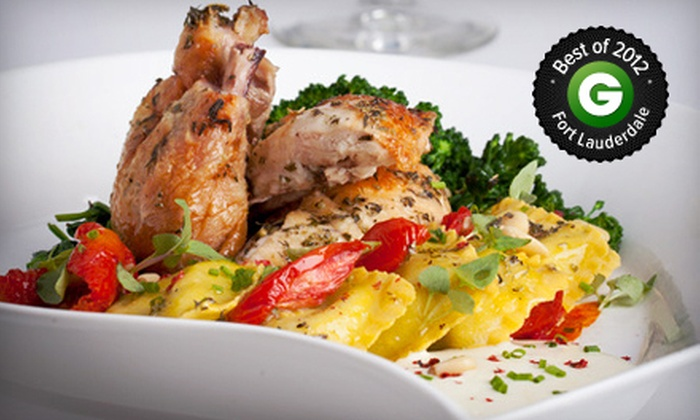 Tundra Las Olas - Fort Lauderdale: International Fusion Dinner with Dessert for Two, Four, or Six at Tundra Las Olas (Up to 58% Off)