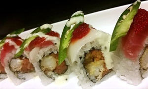 Maru Sushi & Grill: Sushi and Other Japanese Food at Maru Sushi & Grill (Up to 50% Off). Two Options Available.