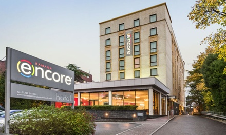 Bournemouth: 2 or 3 Nights for Two with Breakfast and Bottle of House Wine at Ramada Encore Bournemouth