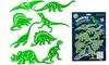 8 dinosaurus-muurstickers