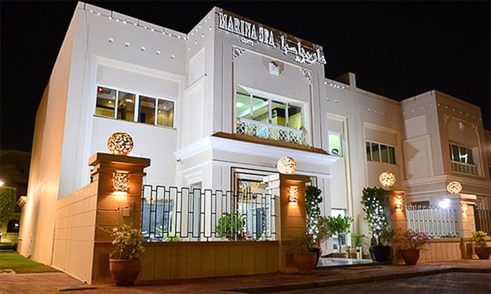 Marina Spa - Abu Dhabi: Full Body Swedish, Moroccan Bath with Herbal Face Mask, Mani-Pedi and Facial at Marina Spa (Up to 70% Off)