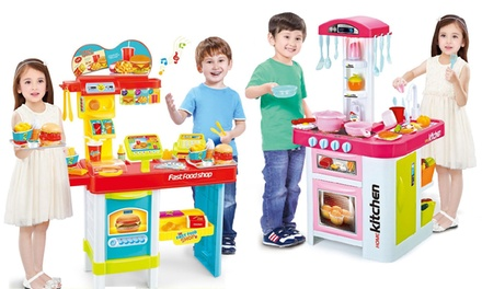 From $29 for a Kids Interactive Doctor, Garden, Market or Fast Food Playset (Don't Pay up To $149)