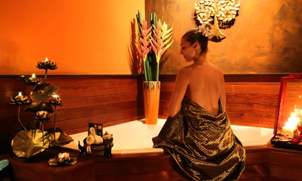 OneHour Hot Stone or Aroma Oil Massage $44 or 2 People $88 at The Old Siam Massage & Spa Up to $168 Value