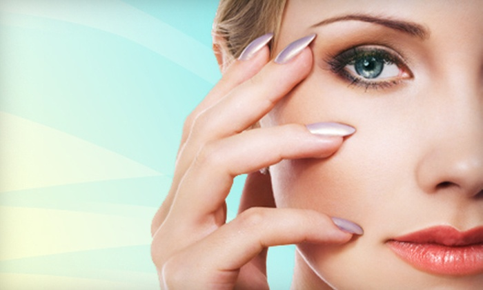 Beauty & Bliss - Center Point: 60-Minute Facial, Shellac Manicure, or Both at Beauty & Bliss (Up to 54% Off)