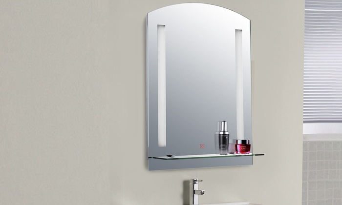 Homcom LED Illuminated Bathroom Mirror