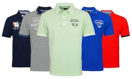 Kitaro Poloshirt für Herren aus 100% Baumwolle im Modell, in der Farbe und Größe nach Wahl