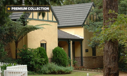 Mount Tamborine: 2 or 3 Nights in a Premium Cottage for Two with Wine, Breakfast Hamper at Lisson Grove