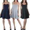 Women's Basic Skater Dress