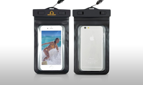 Gear Beast Universal Cell Phone Waterproof Dry Bag Case (2-Pack)