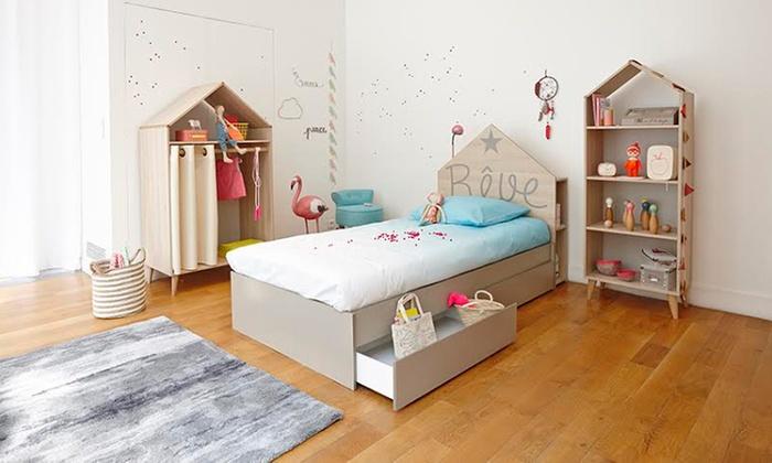 chambre enfant r ve groupon shopping. Black Bedroom Furniture Sets. Home Design Ideas