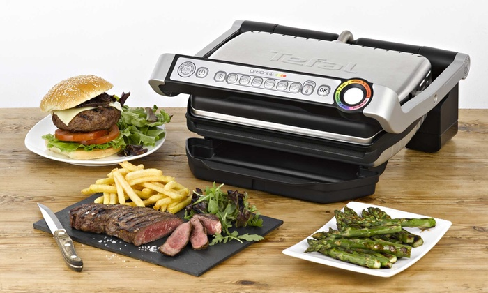 tefal optigrill plus groupon. Black Bedroom Furniture Sets. Home Design Ideas