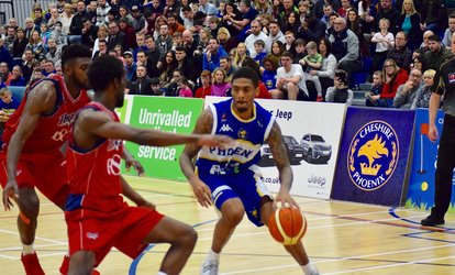 image for Cheshire Phoenix Basketball, One General Admission or Corporate Ticket, 17 December and 23 February (Up to 41% Off)
