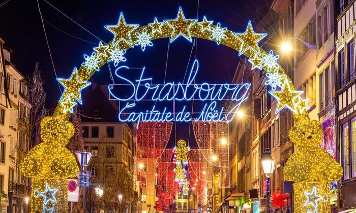 Marché De Noel Strasbourg Hotel.Marché De Noël à Strasbourg Nuitée à L Hôtel Et Transport