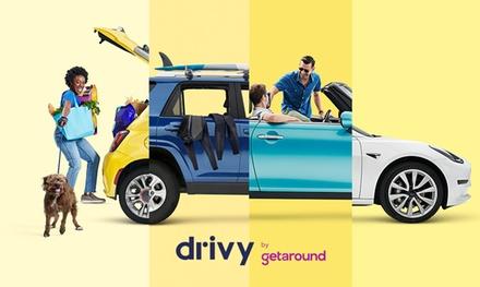 Paga 5 € por un descuento de 25 € para alquilar un coche en Drivy by Getaround
